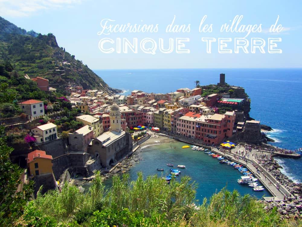 Excursions Dans Les Villages De Cinque Terre Et Pourtant