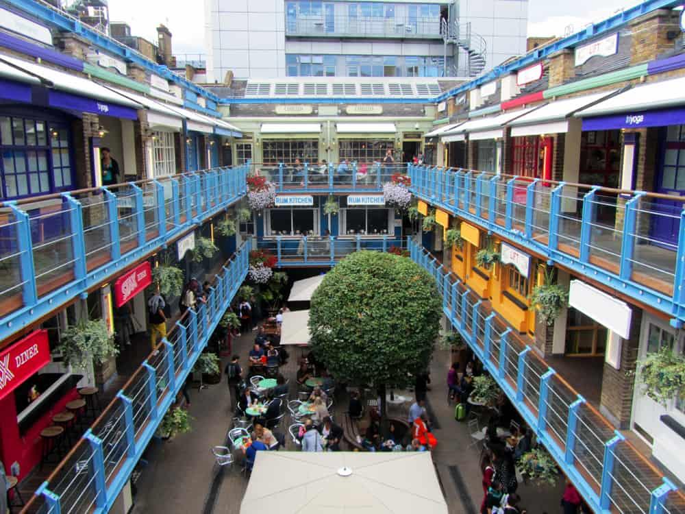 Londres - shopping Kingly Court ©Etpourtantelletourne.fr
