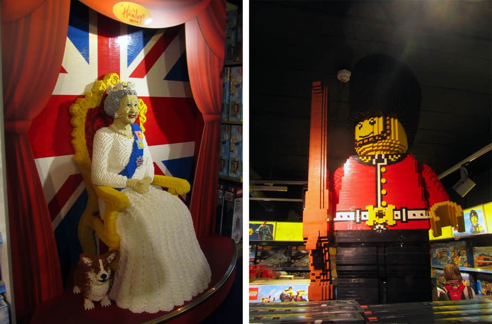 Londres - shopping Piccadilly Circus ©Etpourtantelletourne.fr