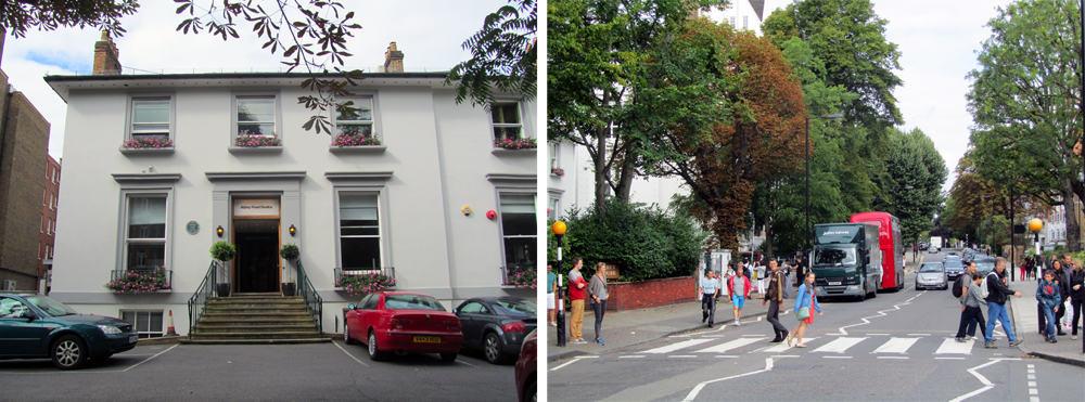 Londres -Abbey Road - passage piéton Beatles ©Etpourtantelletourne.fr