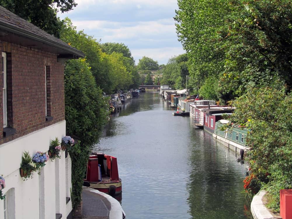 Londres - croisière en bateau depuis Little Venice vers le marché de Camden ©Etpourtantelletourne.fr