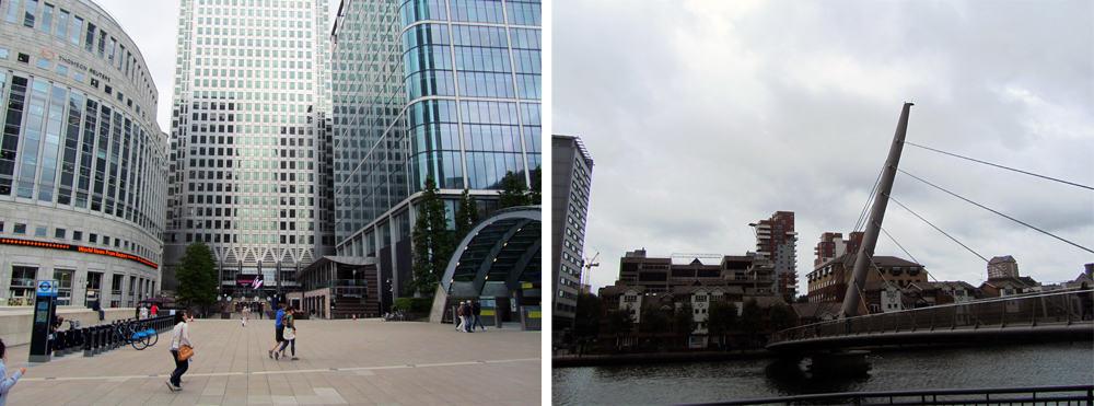 Londres - quartier Canary Wharf ©Etpourtantelletourne.fr