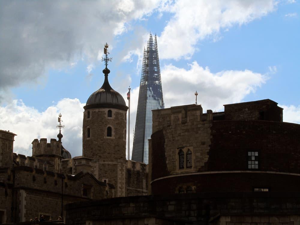 Londres, tour Shard ©Etpourtantelletourne.fr