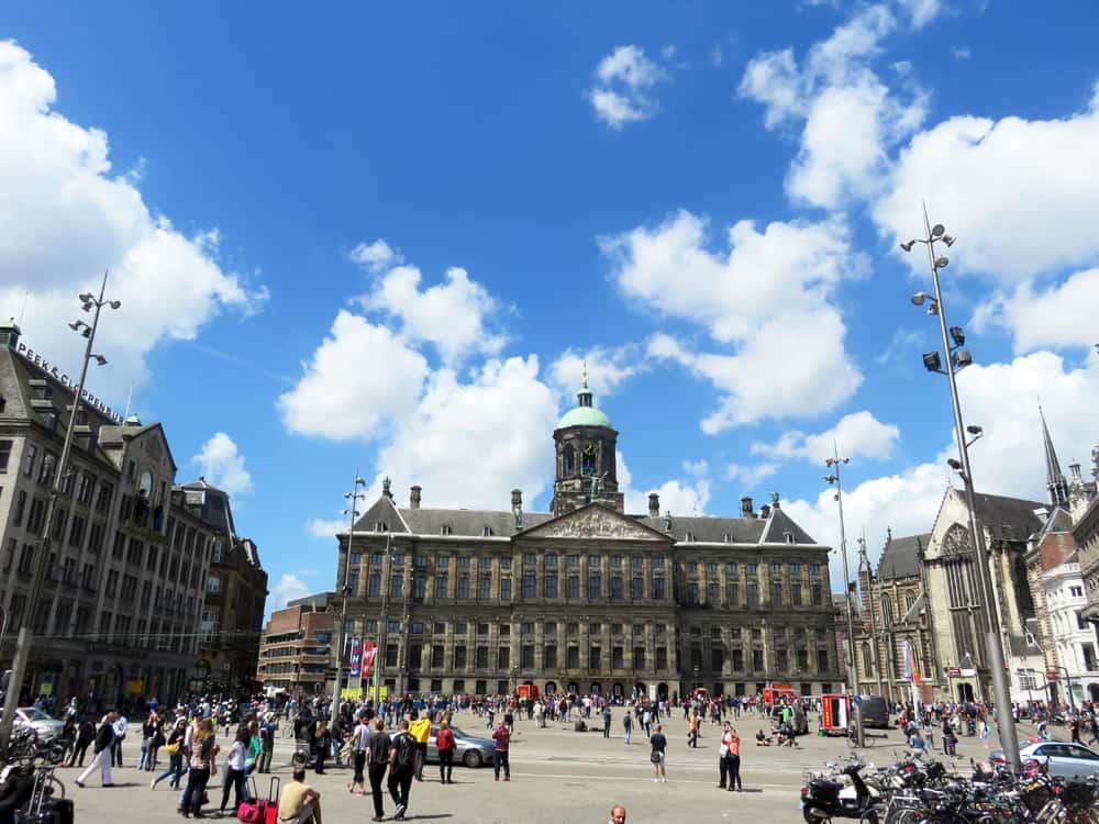Amsterdam, le Palais Royal 2015 ©Etpourtantelletourne.fr