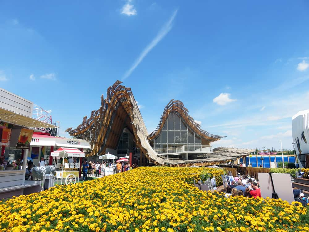 Expo Milano 2015, Pavillon Chine ©Etpourtantelletourne.fr
