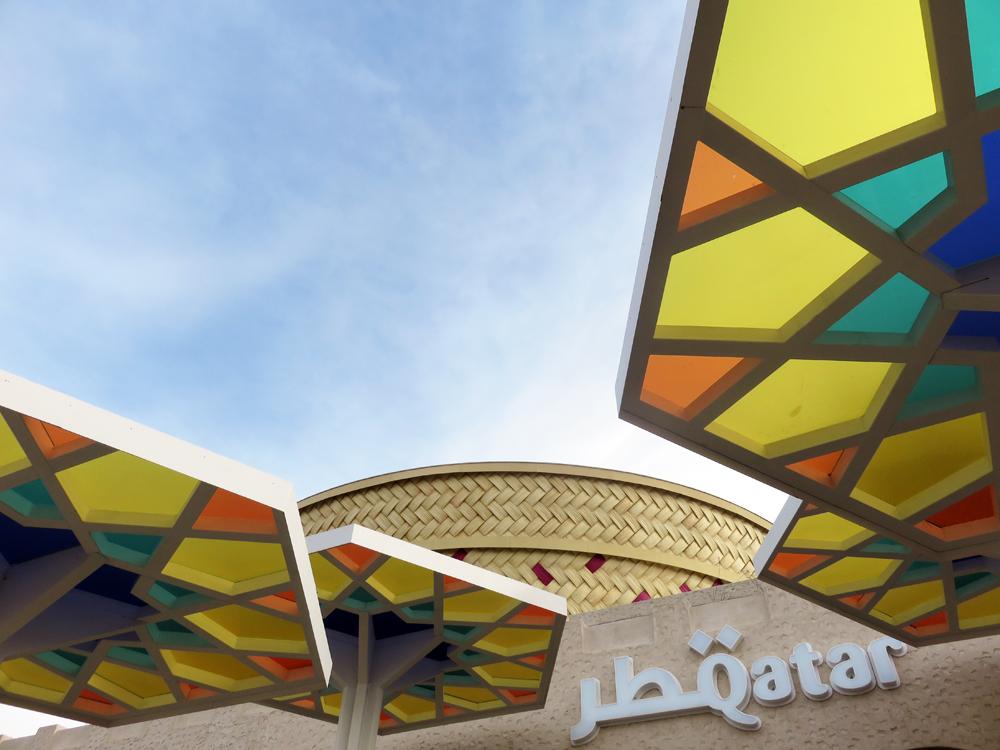 Expo Milano 2015, Pavillon Quatar ©Etpourtantelletourne.fr