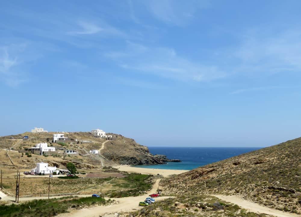 Mykonos, plage de Fokos 2015 ©Etpourtantelletourne.fr