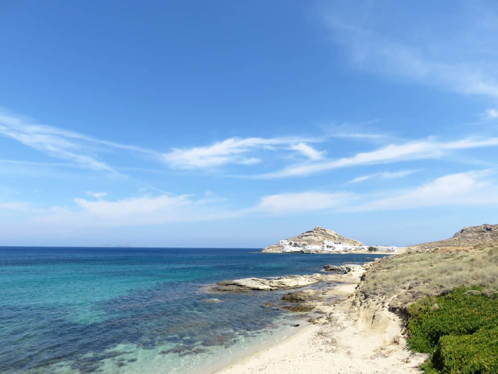 Mykonos, plage de Kalafatis 2015 ©Etpourtantelletourne.fr