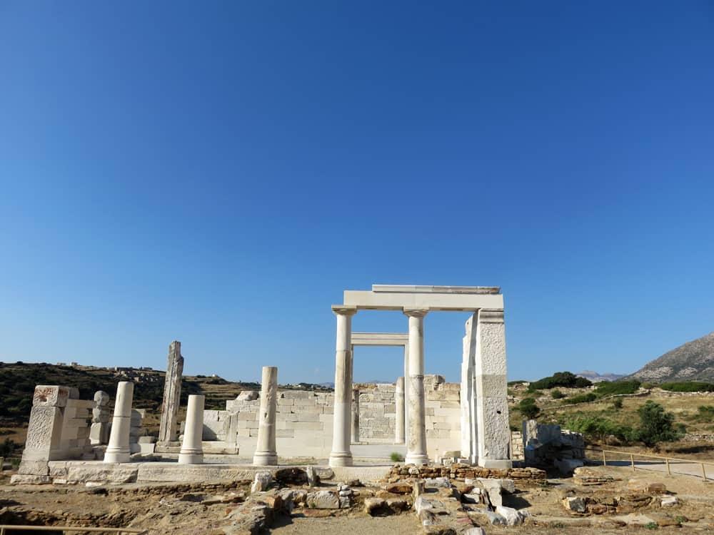 Naxos, Temple de Demeter 2015 ©Etpourtantelletourne.fr