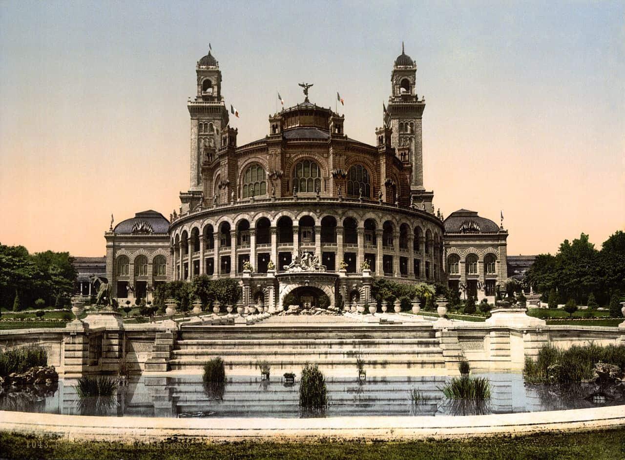 Palais du Trocadéro, Paris exposition universelle 1878