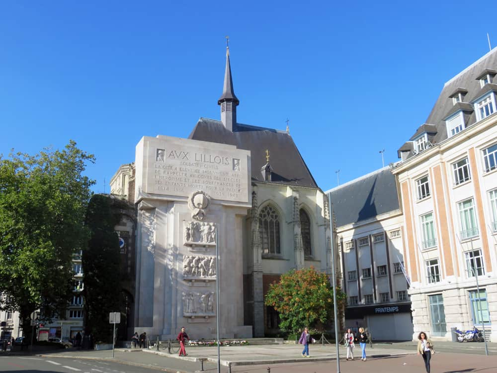 Lille, Palais Rihour ©Etpourtantelletourne.fr