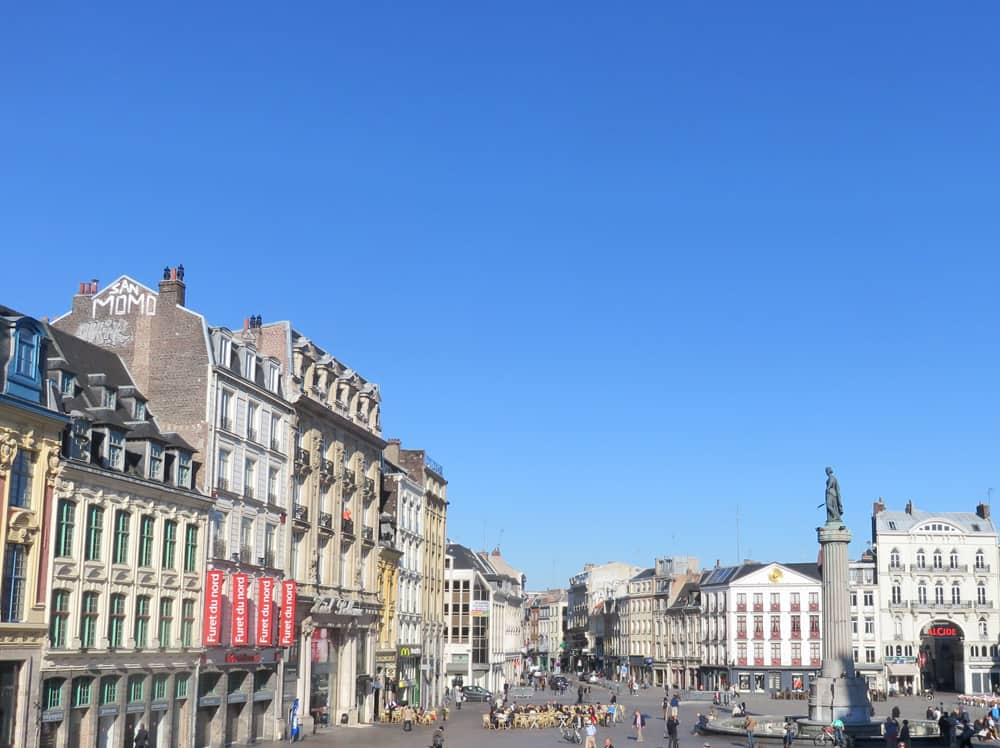 Lille, Grand Place ©Etpourtantelletourne.fr