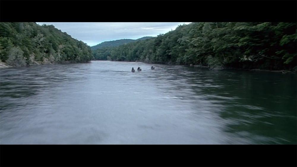 """Anduin River - copie d'écran tirée du film """"Le Seigneur des anneaux : la communauté de l'anneau"""" de Peter Jackson / New Line Cinema"""