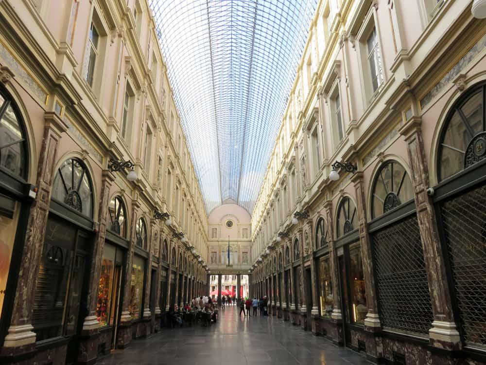 Bruxelles Galeries Royales Saint Hubert 2016 ©Etpourtantelletourne.fr