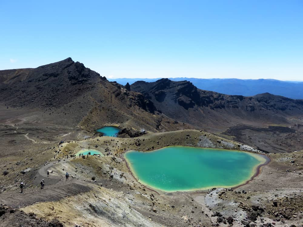 Tongariro Alpine Crossing, Nouvelle Zélande, Emerald Lake 2016 ©Etpourtantelletourne.fr