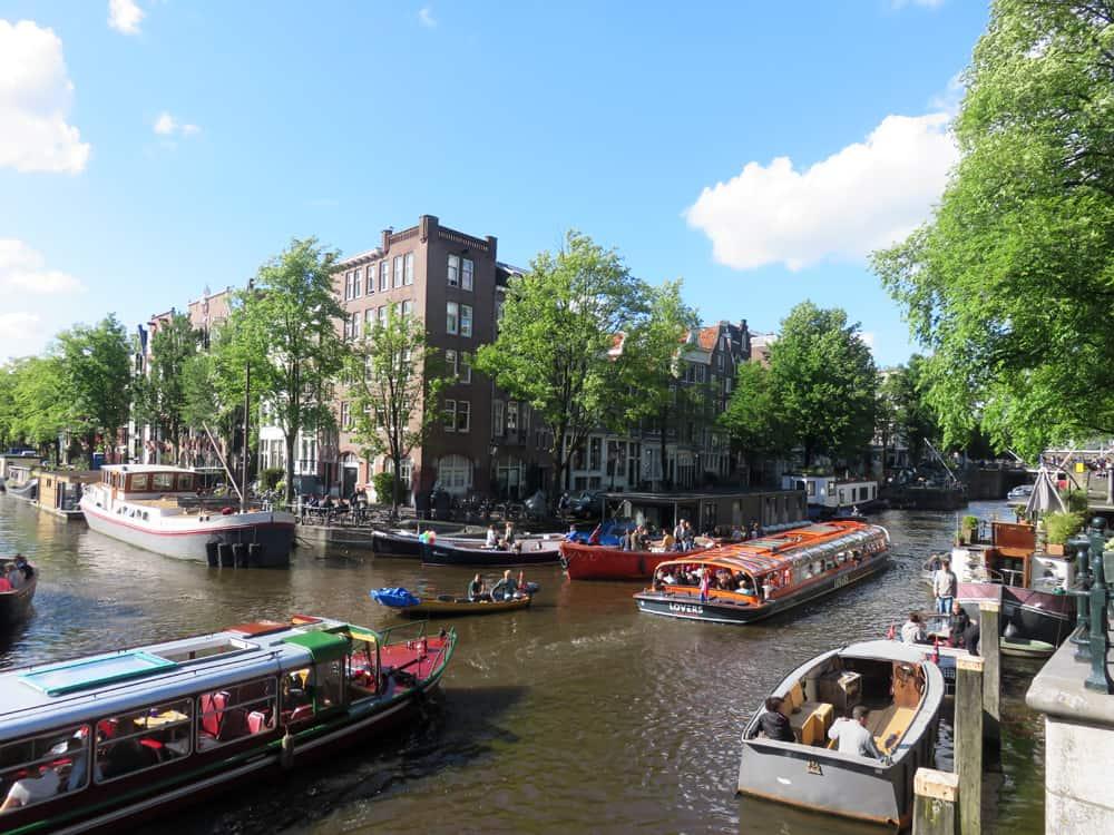 Amsterdam, canaux 2016 ©Etpourtantelletourne.fr
