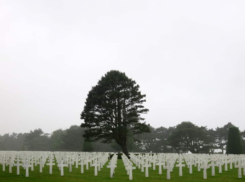 Omaha Beach cimetière américain 2016 ©Etpourtantelletourne.fr