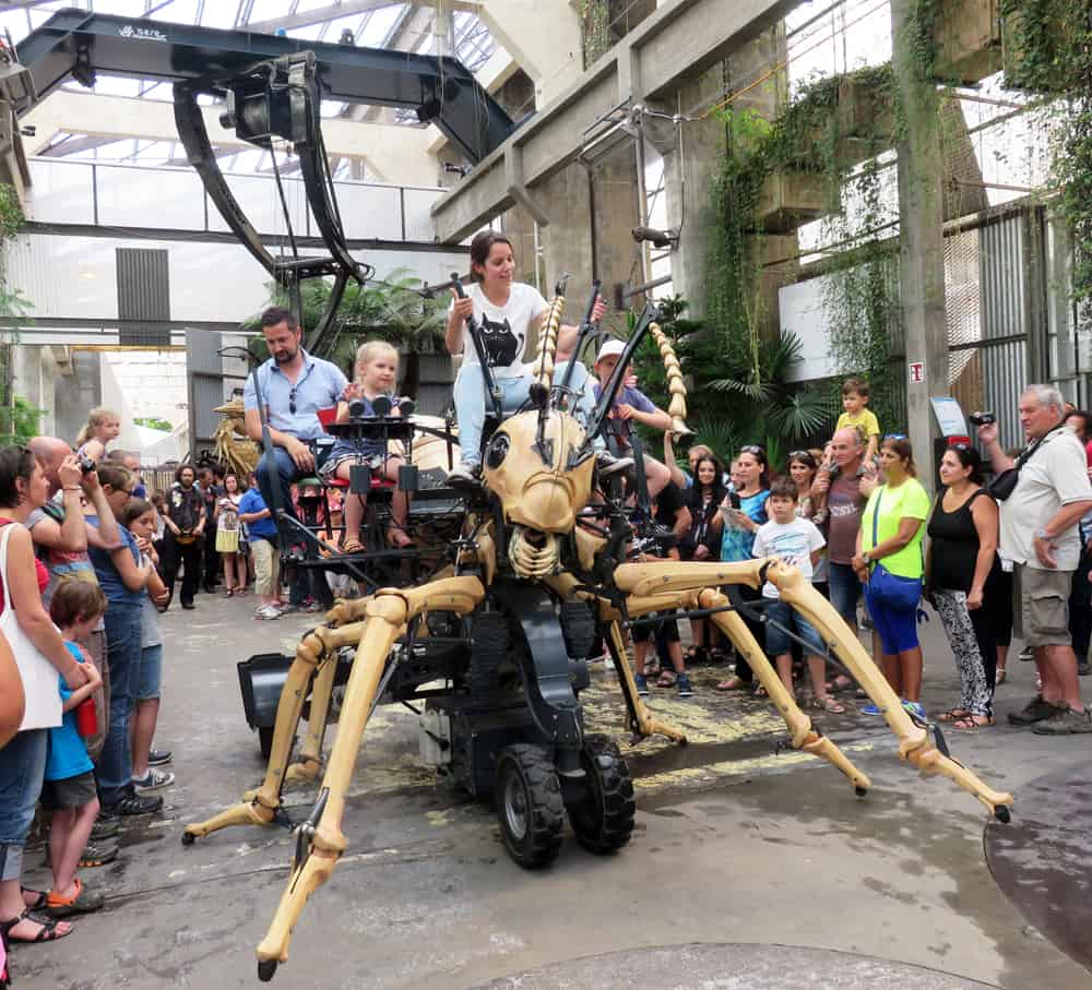 Nantes les machines de l'ile 2016 ©Etpourtantelletourne.fr