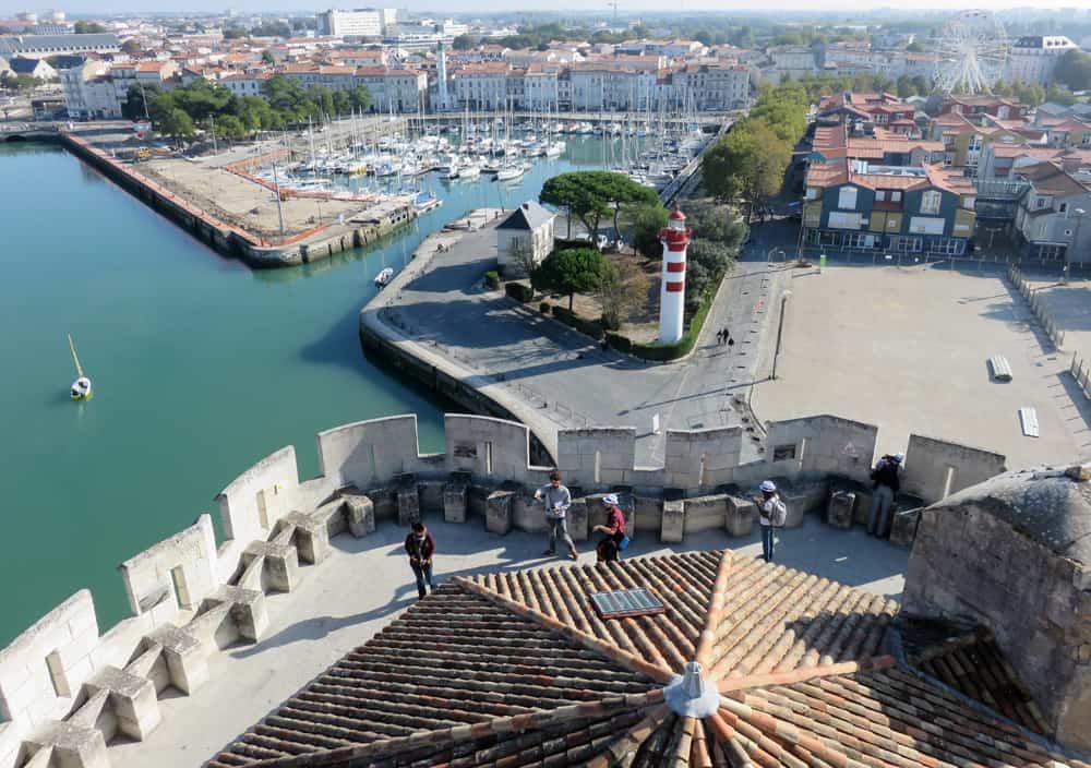 Vue de la tour Saint Nicolas La Rochelle 2016 ©Etpourtantelletourne.fr
