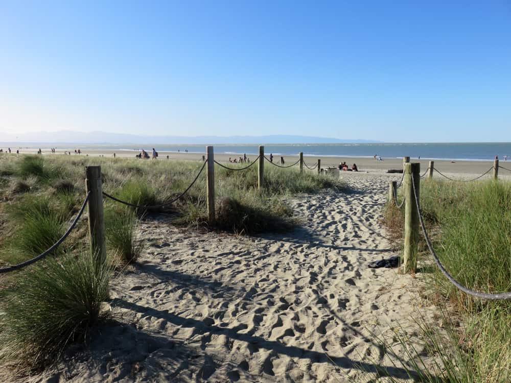 Nouvelle Zélande Nelson Tahunanui beach 2016 ©Etpourtantelletourne.fr