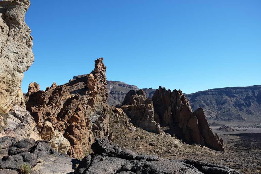 Tenerife Los Roques de Garcia Teide 2017 ©Etpourtantelletourne.fr