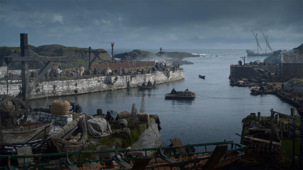 Itinéraire sur les lieux de tournage de Game of Thrones en Irlande du Nord - Ballintoy - HBO