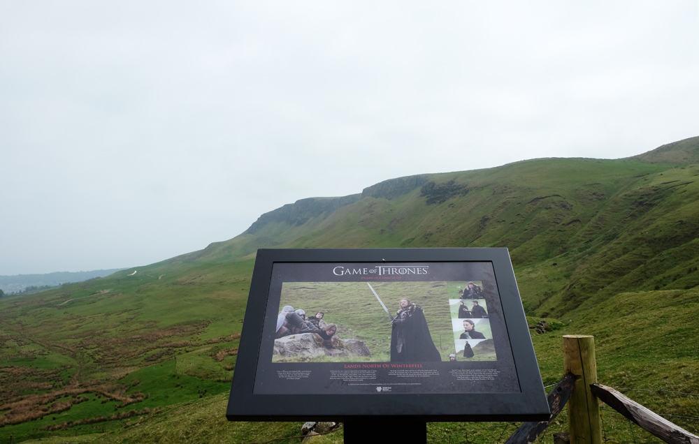 Itinéraire sur les lieux de tournage de Game of Thrones en Irlande du Nord - Carncastle ©Etpourtantelletourne.fr