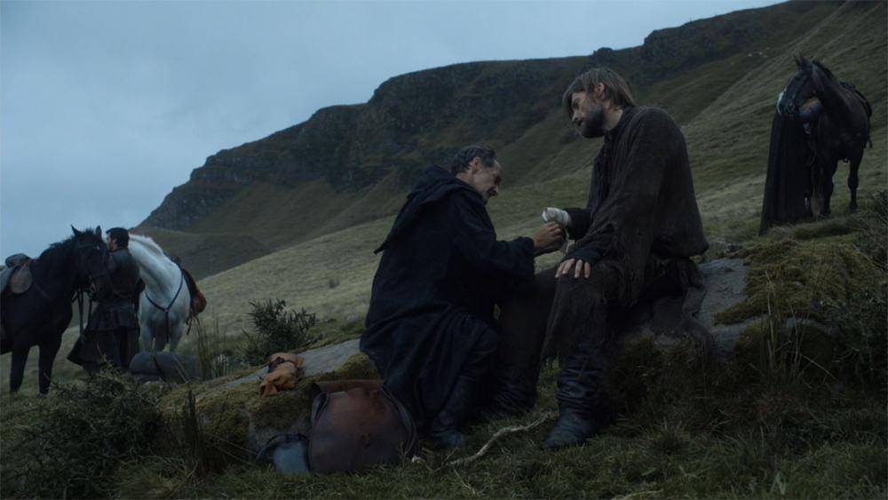 Itinéraire sur les lieux de tournage de Game of Thrones en Irlande du Nord - Carncastle ©HBO