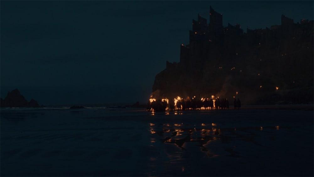 Itinéraire sur les lieux de tournage de Game of Thrones en Irlande du Nord - Downhill beach - HBO