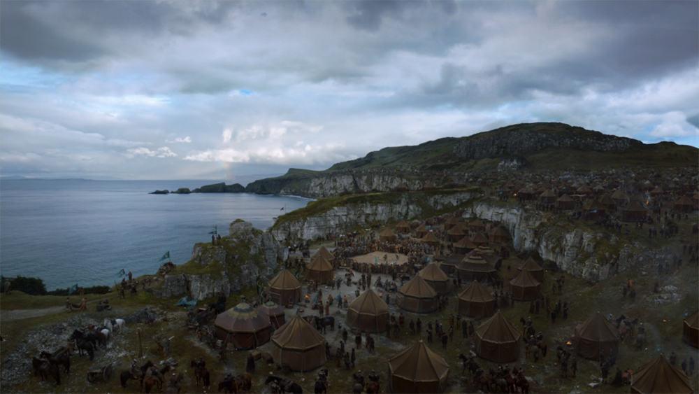 Itinéraire sur les lieux de tournage de Game of Thrones en Irlande du Nord - Larrybane - HBO