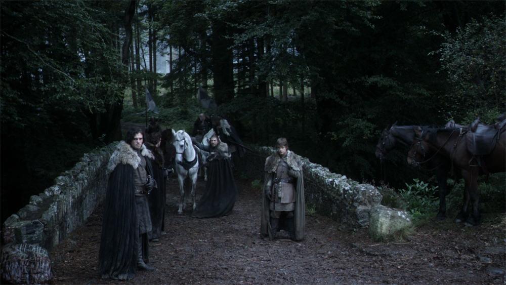 Itinéraire sur les lieux de tournage de Game of Thrones en Irlande du Nord - Tollymore forest Park - HBO