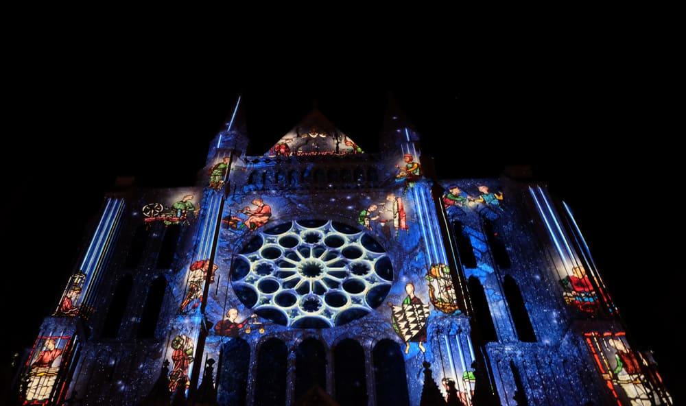 Chartres en lumières 2017 ©Etpourtantelletourne.fr