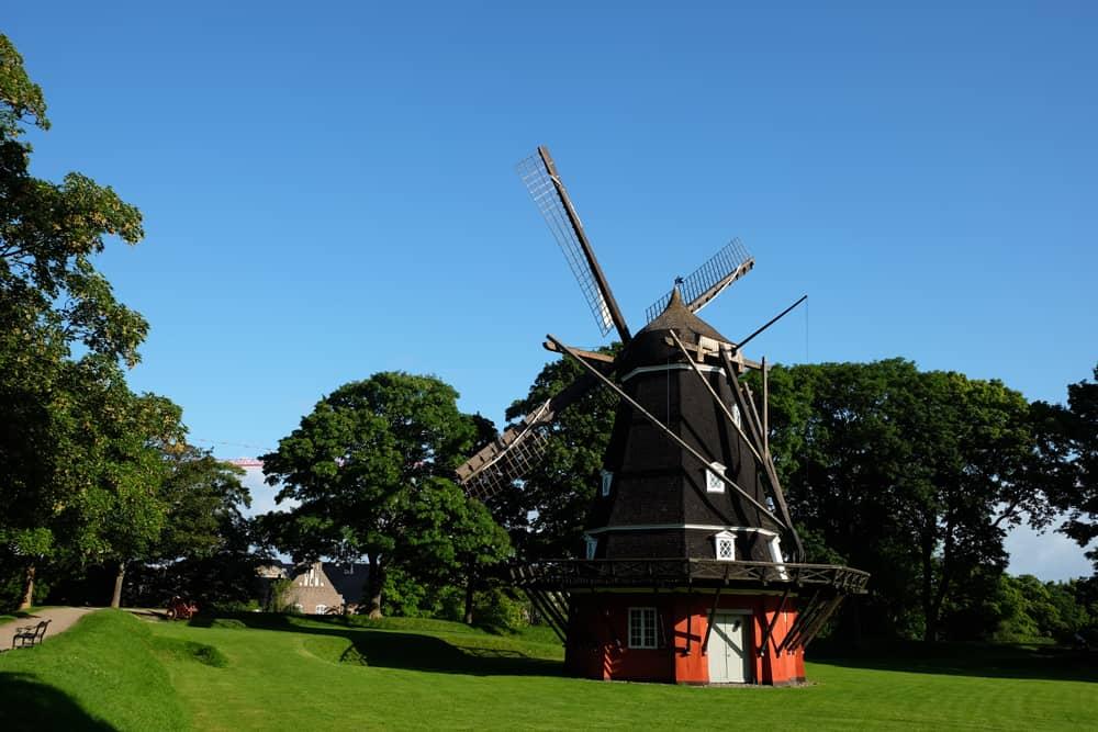 Moulin de la Citadelle Copenhague ©Etpourtantelletourne.fr