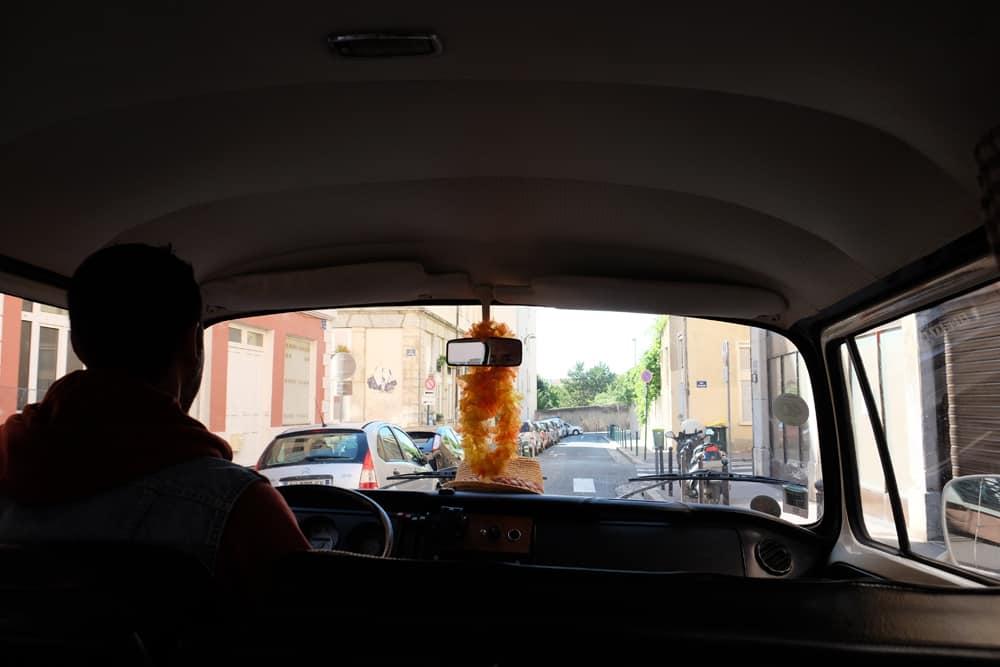 Visiter Lyon en combi volkswagen my little combi ©Etpourtantelletourne.fr
