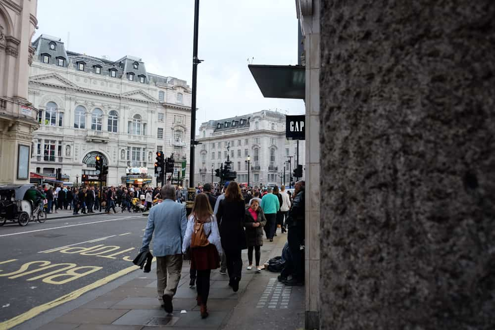 Lieux de tournage Harry Potter à Londres - Piccadilly Circus ©Etpourtantelletourne.fr