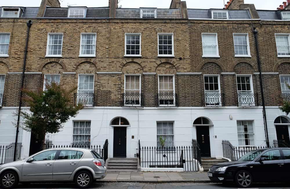 Lieux de tournage Harry Potter à Londres - 12 sqaure Grimmaurd - maison des Black ©Etpourtantelletourne.fr