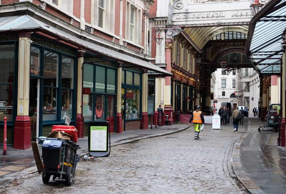 Lieux de tournage Harry Potter à Londres Le marché de Leadenhall ©Etpourtantelletourne.fr