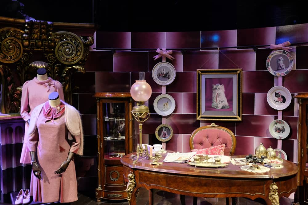 Lieux de tournage Harry Potter à Londres - studio tournage bureau Dolores Ombrage ©Etpourtantelletourne.fr