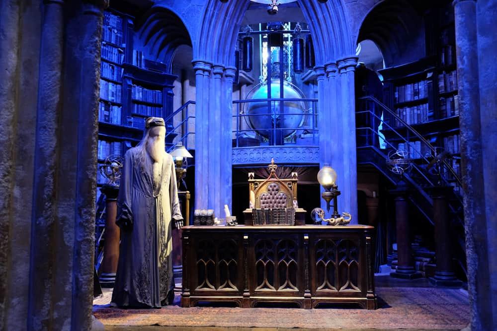 Lieux de tournage Harry Potter à Londres - studio tournage bureau de Dumbledore ©Etpourtantelletourne.fr