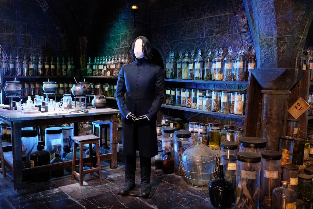 Lieux de tournage Harry Potter à Londres - studio tournage bureau de Rogue ©Etpourtantelletourne.fr