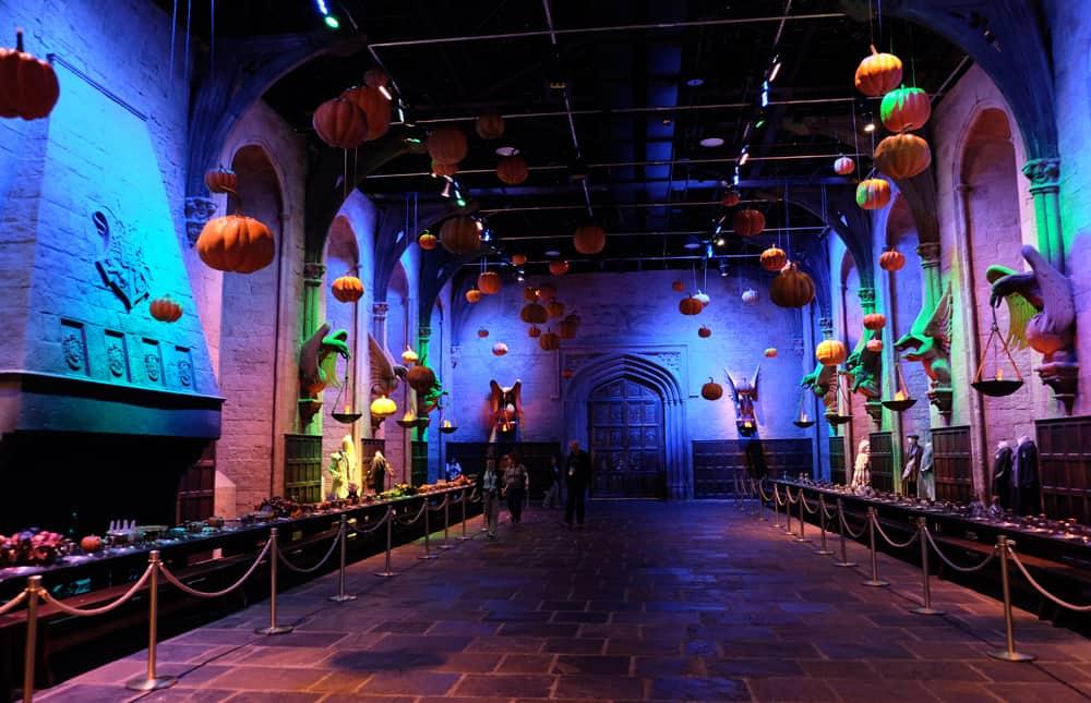Lieux de tournage Harry Potter à Londres - studio tournage grande salle ©Etpourtantelletourne.fr