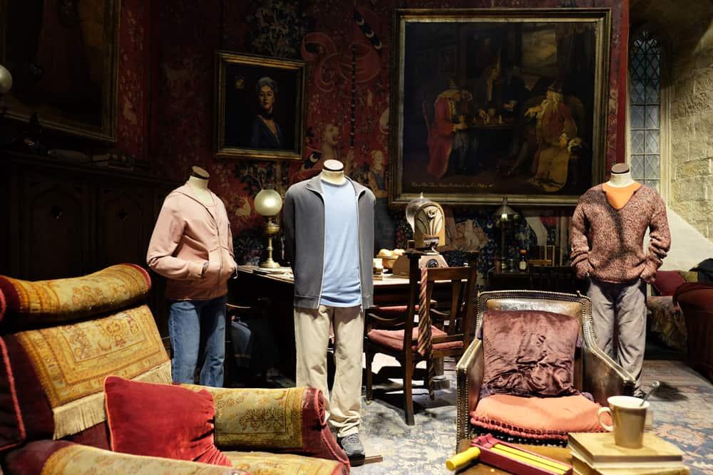 Lieux de tournage Harry Potter à Londres - studio tournage salle commune Gryffondor ©Etpourtantelletourne.fr