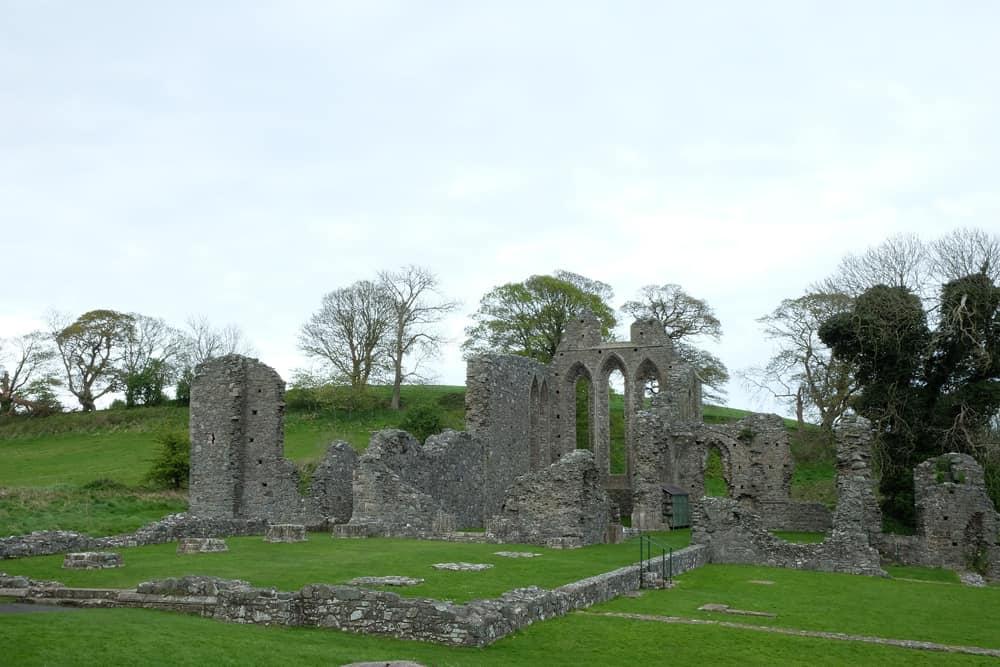 Road Trip Irlande du Nord Comté de Down Inch Abbey ©Etpourtantelletourne.fr