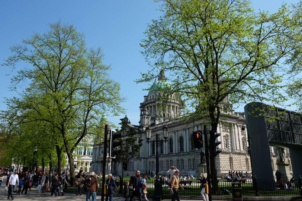 Belfast  city hall ©Etpourtantelletourne.fr