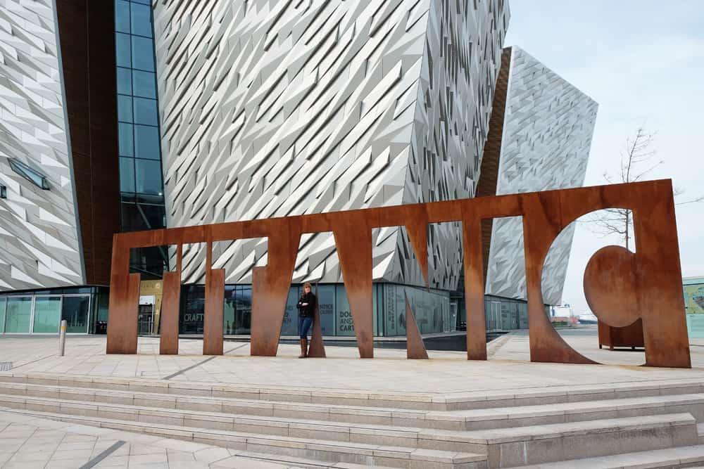 Belfast Le musée du Titanic ©Etpourtantelletourne.fr