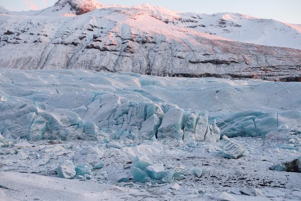 glacier Svinafellsjökull lieux tournage Interstellar ©Etpourtantelletourne.fr