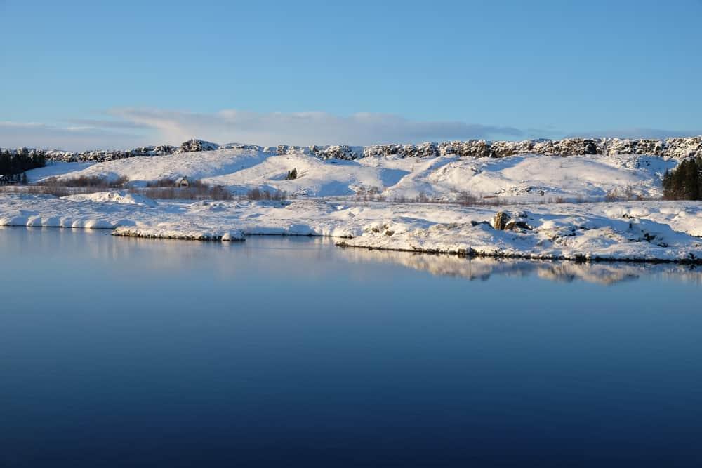 Islande en hiver spot de plangée Cercle d'or ©Etpourtantelletourne.fr