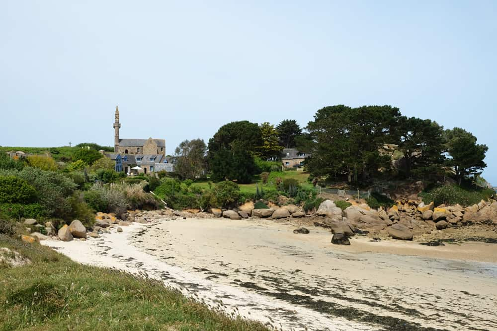 Ile Callot Finistère plage ©Etpourtantelletourne.fr