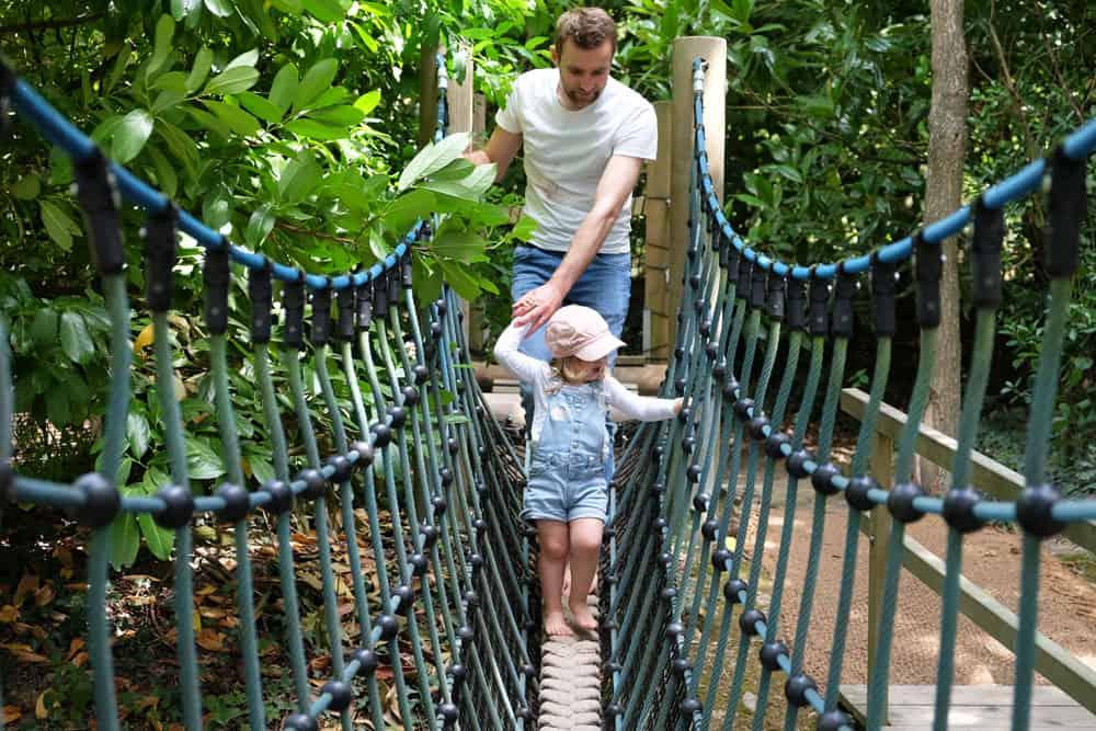 Jardins de Brocéliande parcours dans les arbres ©Etpourtantelletourne.fr