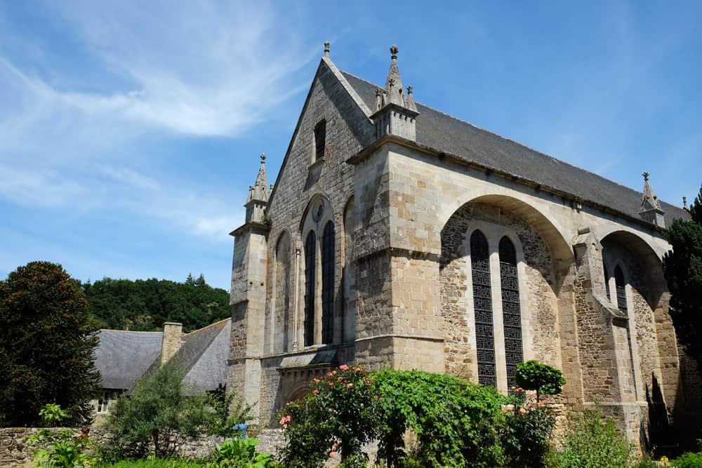 L'abbaye de Léhon ©Etpourtantelletourne.fr